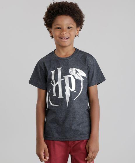 Camiseta-Harry-Potter-Cinza-Mescla-Escuro-8743336-Cinza_Mescla_Escuro_1