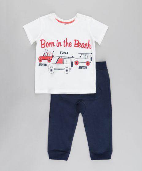 Conjunto-em-Algodao---Sustentavel-de-Camiseta-Off-White---Calca-Azul-Marinho-8678182-Azul_Marinho_1