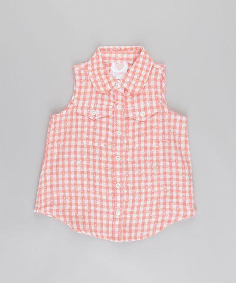 Camisa-Xadrez-Coral-8682137-Coral_1