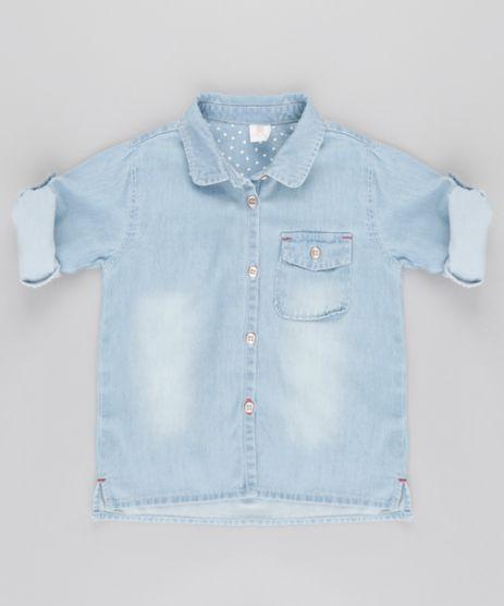 Camisa-Jeans-em-Algodao---Sustentavel-Azul-Claro-8651578-Azul_Claro_1