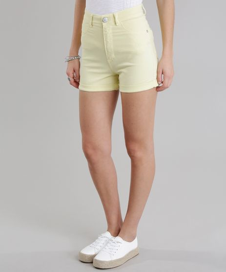 Short-Hot-Pant-Amarelo-8727125-Amarelo_1