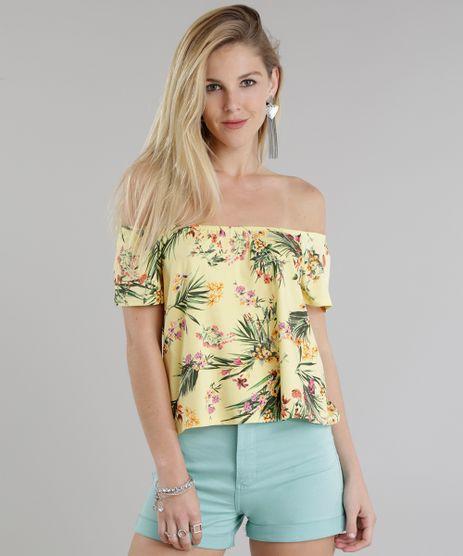 Blusa-Ombro-a-Ombro-Estampada-Floral-Amarela-8784643-Amarelo_1
