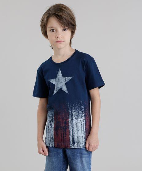 Camiseta-Capitao-America-Azul-Marinho-8455174-Azul_Marinho_1