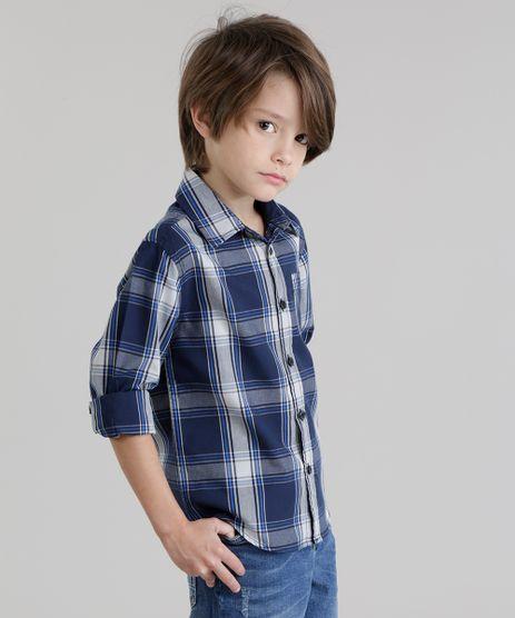 Camisa-Xadrez-Azul-Marinho-8570960-Azul_Marinho_1
