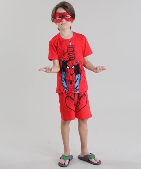 Pijama-Homem-Aranha-com-Mascara-Vermelha-8728805-Vermelho_1