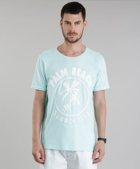 Camiseta--Palm-Beach--Verde-Agua-8762962-Verde_Agua_1