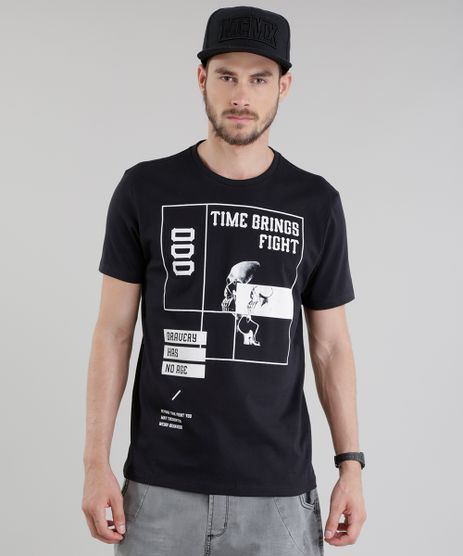 Camiseta--Time-Brings-Fight--Preta-8819715-Preto_1