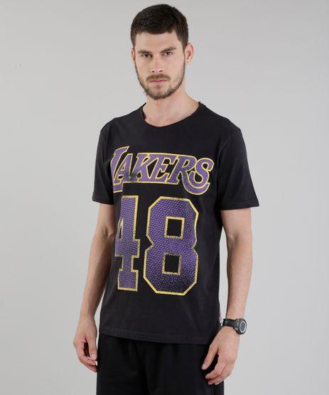 Camiseta-NBA-Los-Angeles-Lakers-Preta-8748159-Preto_1