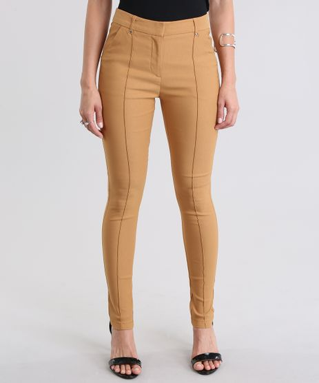 Calca-Skinny-Amarelo-Escuro-8715912-Amarelo_Escuro_1