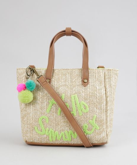 Bolsa-Shopper--Hello-Summer--Bege-8370236-Bege_1