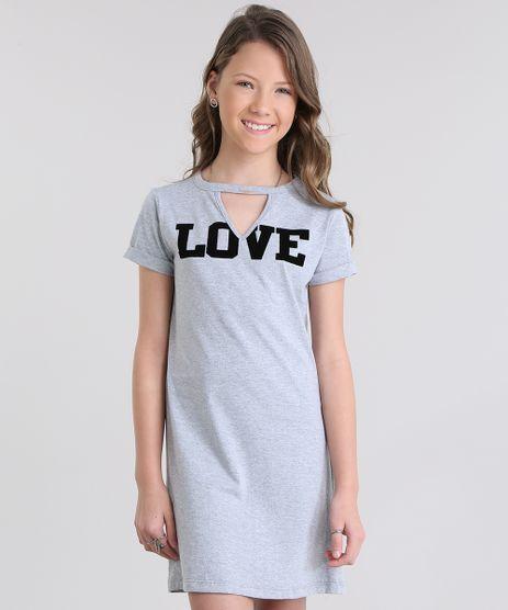 Vestido-Choker--LOVE--Cinza-Mescla-8741836-Cinza_Mescla_1