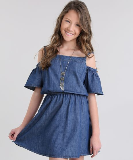Vestido-Open-Shoulder-em-Jeans-Azul-Escuro-8719413-Azul_Escuro_1