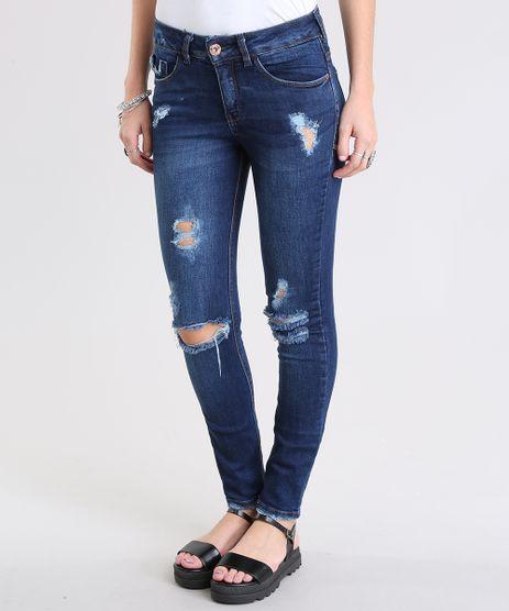 Calca-Jeans-Cigarrete-Destroyed-Azul-Escuro-8797643-Azul_Escuro_1