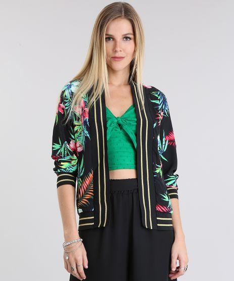 Kimono-Estampado-Floral-Preto-8717581-Preto_1