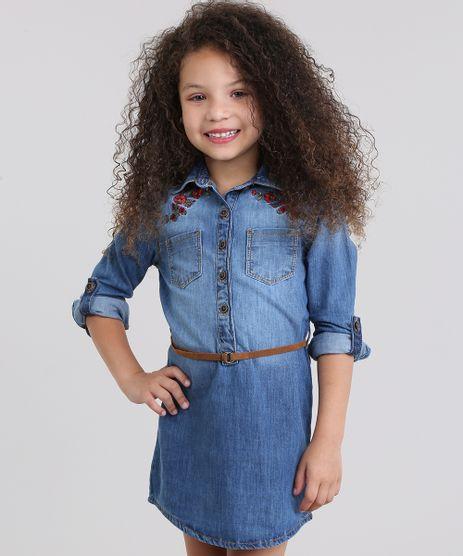 Vestido-Chemise-Jeans-com-Bordado-e-Cinto-Azul-Medio-8631422-Azul_Medio_1