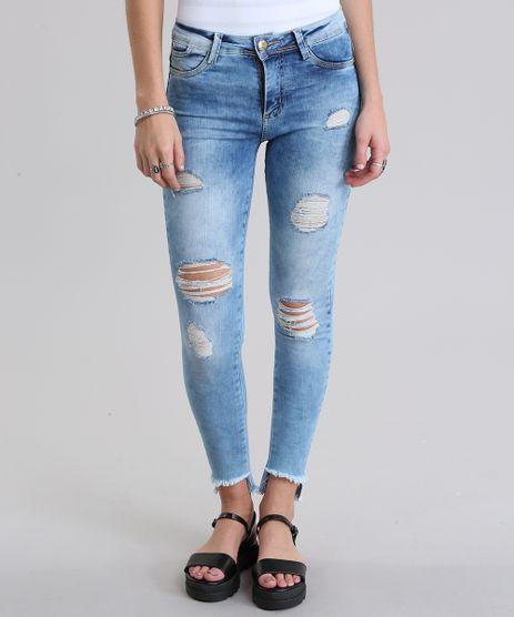 Calca-Jeans-Super-Skinny-Destroyed-Sawary-Azul-Claro-8770640-Azul_Claro_1