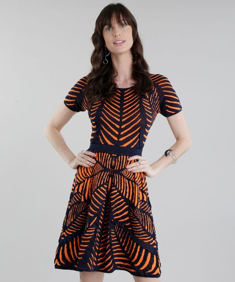 Vestido-GIG-Couture-em-Jacquard-de-Trico-Abstrato-Azul-Marinho-8656189-Azul_Marinho_1