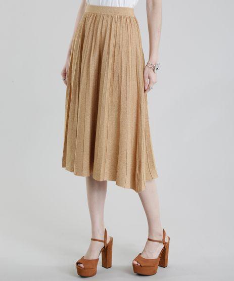 Saia-Midi-GIG-Couture-em-Trico-com-Lurex-Dourada-8695283-Dourado_1