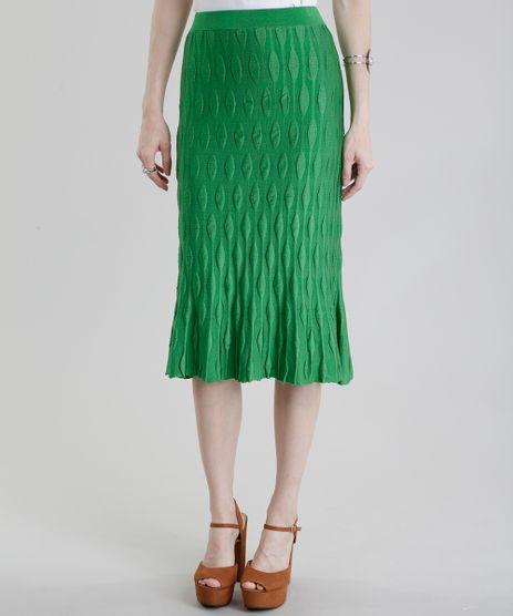 Saia-Midi-GIG-Couture-em-Jacquard-de-Trico-Verde-8656207-Verde_1