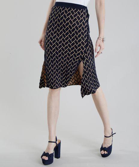 Saia-com-Fendas-GIG-Couture-em-Jacquard-de-Trico-Geometrico-Azul-Marinho-8656144-Azul_Marinho_1