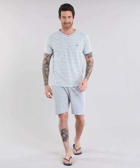 Pijama-Listrado-Cinza-Mescla-Claro-8698151-Cinza_Mescla_Claro_1
