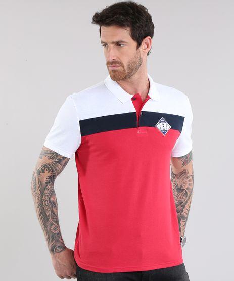 Polo-em-Piquet-com-Patch--Navy-Union--Vermelha-8781896-Vermelho_1