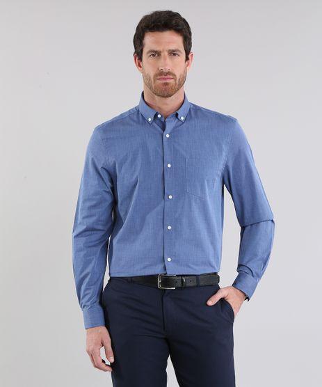 Camisa-Comfort-Azul-Marinho-8637740-Azul_Marinho_1