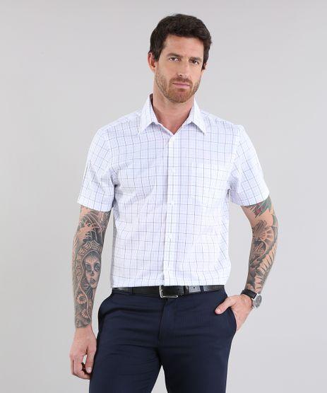 Camisa-Comfort-Xadrez-Branca-8637820-Branco_1