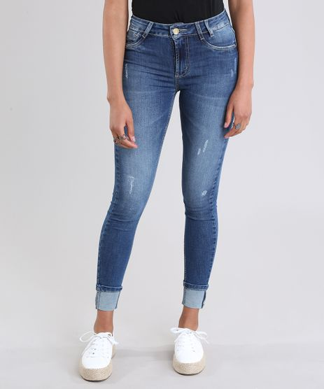 Calca-Jeans-Super-Skinny-Push-Up-Sawary-Azul-Medio-8865787-Azul_Medio_1