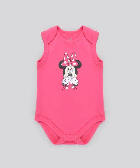 Body-Minnie-em-Algodao---Sustentavel-Rosa-Escuro-8638020-Rosa_Escuro_1