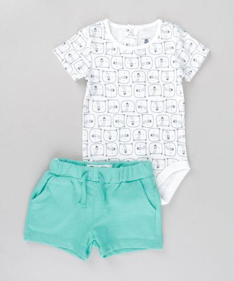 Conjunto-de-Body-Branco-Estampado---Bermuda-em-Algodao---Sustentavel-Verde-8682964-Verde_1
