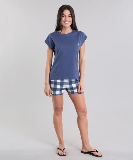 Pijama-Xadrez-Azul-Marinho-8797465-Azul_Marinho_1