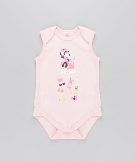 Body-Minnie-em-Algodao---Sustentavel-Rosa-Claro-8638066-Rosa_Claro_1