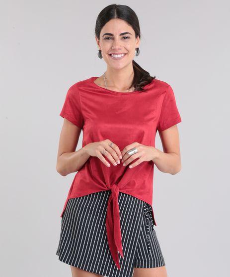 Blusa-em-Suede-Vermelha-8740907-Vermelho_1