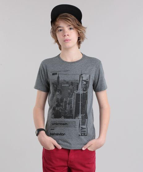 Camiseta--City-Nour--Cinza-Mescla-Escuro-8707556-Cinza_Mescla_Escuro_1
