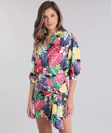 Vestido-PatBO-Estampado-Tropical-Preto-8707824-Preto_1
