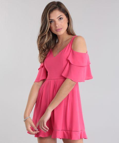 Vestido-PatBO-Open-Shoulder-com-Babado-Pink-8683374-Pink_1