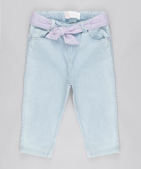 Calca-Jeans-com-Cinto-em-Laise-Azul-Claro-8679663-Azul_Claro_1
