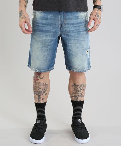 Bermuda-Jeans-Reta-Destroyed-Azul-Medio-8745396-Azul_Medio_1