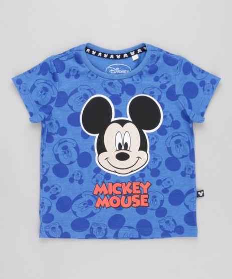 Camiseta-Estampada-Mickey-Azul-8787102-Azul_1