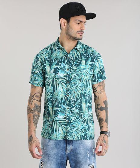 Camisa-Estampada-de-Folhagem-Verde-8735204-Verde_1