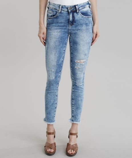 Calca-Jeans-Cigarrete-Destroyed-Azul-Claro-8831261-Azul_Claro_1