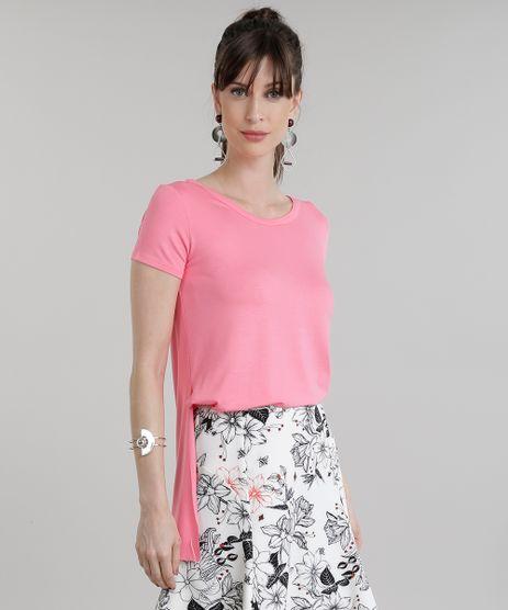 Blusa-Longa-Basica-com-Fendas-Rosa-8783273-Rosa_1