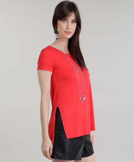 Blusa-Longa-Basica-com-Fendas-Vermelha-8783273-Vermelho_1