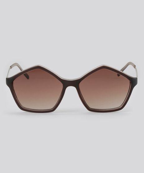 Oculos-de-Sol-Angular-Feminino-Oneself-Marrom-8354365-Marrom_1