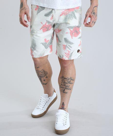 Bermuda-Reta-Estampada-Floral-Bege-Claro-8787168-Bege_Claro_1