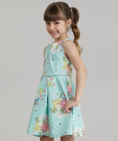 Vestido-Estampado-Floral-com-Metalizado-Verde-Claro-8677146-Verde_Claro_1