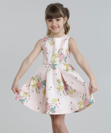 Vestido-Estampado-Floral-com-Metalizado-Rose-8677146-Rose_1