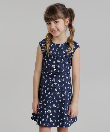 Vestido-Estampado-Floral-com-Vazado-Azul-Marinho-8681633-Azul_Marinho_1