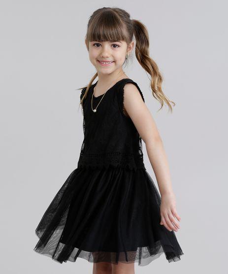 Vestido-em-Tule-Bordado-com-Renda-Preto-8692942-Preto_1